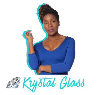 Krystal Glass logo transparent