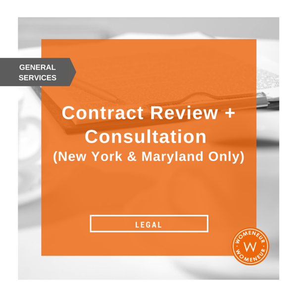 Contract Review + Consultation