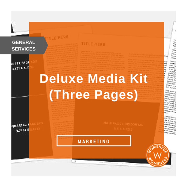 Starter Media Kit Three Pages