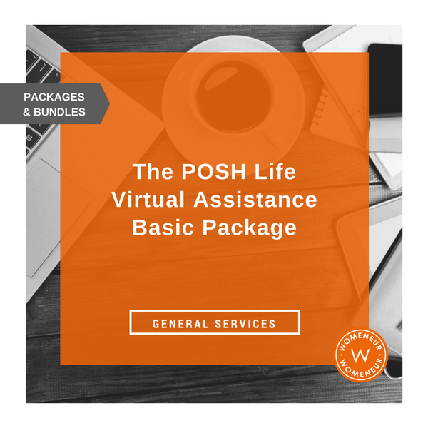 Posh Life Virtual Assistance Basics Package