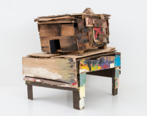 Beverly Buchanan (American, 1940–2015). Old Colored School, 2010. Wood and paint, 20 1/4 x 14 3/4 x 18 1/2 in. (51.4 x 37.5 x 47 cm). © Estate of Beverly Buchanan, courtesy of Jane Bridges. (Photo: Adam Reich, courtesy of Andrew Edlin Gallery, New York)