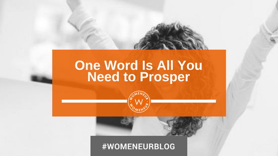 One Word Is All You Need to Prosper